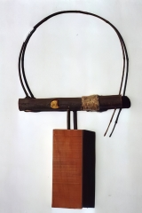 Bending/ I, 1999, wood, 60 x 40 x 12 cm