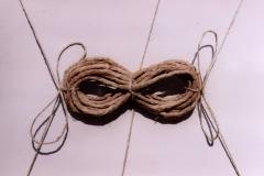 Binding, 1986, rope, 25 x 35 cm