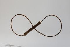 Eighting, 1997, wood ,30 x 65, 5 cm