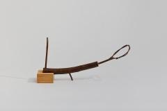 Figurating, 20078, wood,  20 x 14 x 40 cm