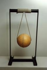 Hanging, 1992, plastic, rope, metal, 130 x 40 x 40 cm