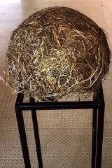 Hayballiyng, 1994, hay, Ø 40 cm