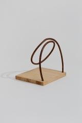 Twisting, 2007, wood, 15 x 18 x 15 cm