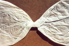 Bowing, paper, 50x70, 1992