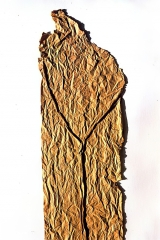 Crumpling – Ripping, banana paper, 60x18, 1993
