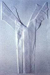 Rippting – Folding, silk paper, 50x30, 1993