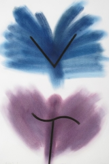Powdering, VNB, 1995, tempera, 70 x 50 cm