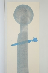 Sign pur, 1994, mixed media, 70 x 50 cm