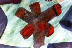 Crossing, 1990, pastel, 50x70 cm