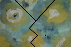 Fork – confrontation B, 1992, 50 x 65 cm