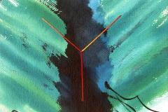Fork – confrontation C, 1992, 50 x 65 cm