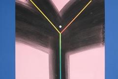 Fork – confrontation E, 1992, 50 x 65 cm