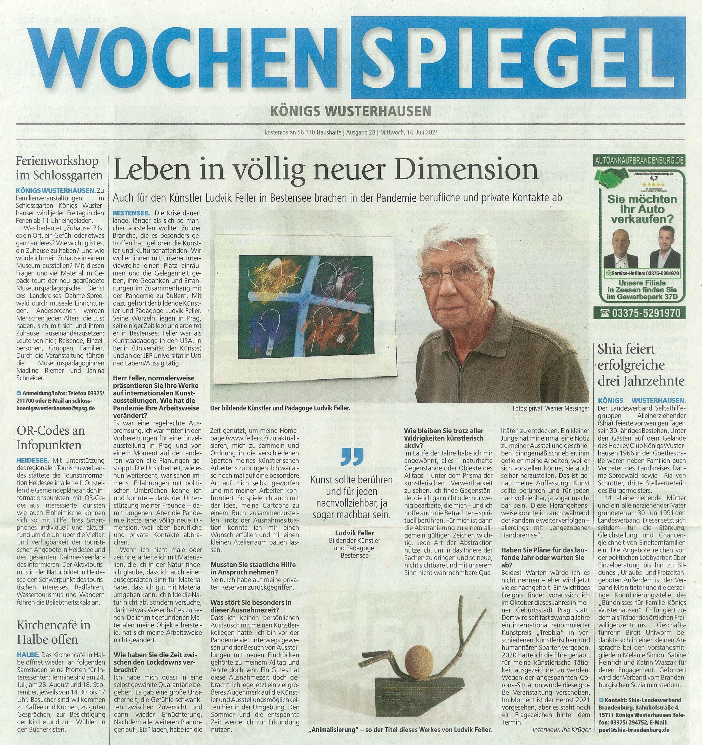 Wochenspiegel 09/2021